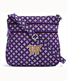 Vera Bradley Washington Huskies Triple Zip Hipster
