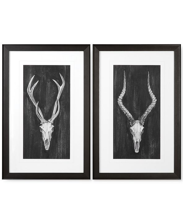 Uttermost Rustic European Mounts 2-Pc. Print Wall Art