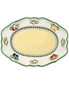 French Garden Fleurence Medium Oval Platter