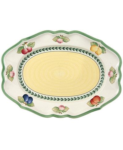Villeroy & Boch Dinnerware, French Garden Fleurence Medium Oval Platter