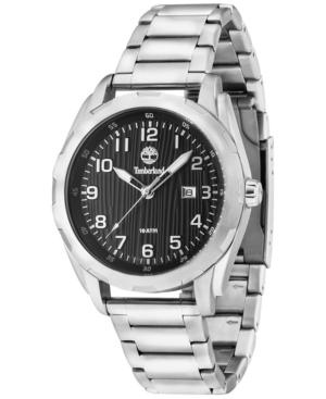 Timberland Men's New Market Stainless Steel Bracelet Watch 45mm TBL13330XS02M