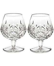 Stemware Lismore Brandy Glasses, Set of 2