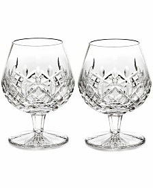 Waterford Stemware Lismore Brandy Glasses, Set of 2