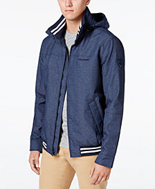 Tommy Hilfiger Men's Regatta Windbreaker with Packable Hood, Created for Macy's