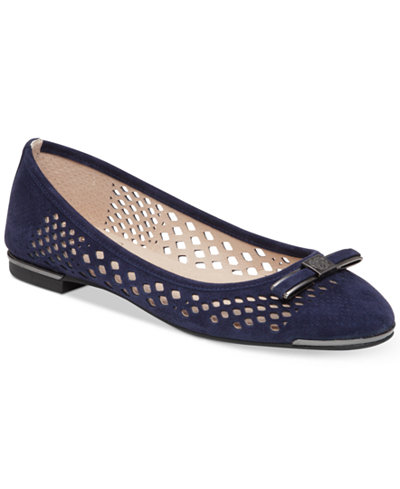 Vince Camuto Celindan Perforated Ballet Flats Flats