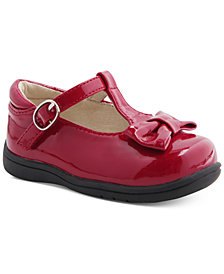 Mobility By Nina Cruz T-Strap Bow Shoes, Baby & Toddler Girls