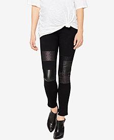 Paige Denim Maternity Skinny Patchwork Jeans