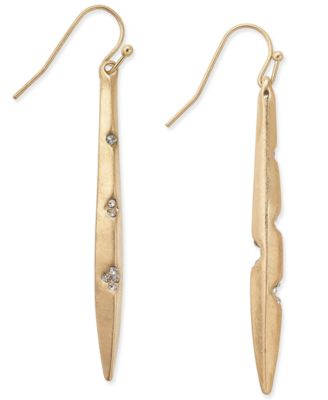 Image of INC International Concepts Mismatched Metal Point Earrings, Created for Macy's