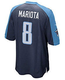 Nike  Marcus Mariota Tennessee Titans Limited Jersey, Big Boys (8-20)