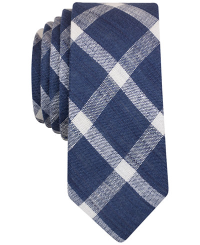 Original Penguin Men's Merrick Grid Slim Tie
