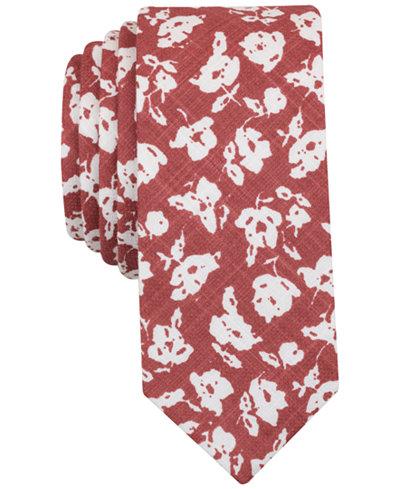 Original Penguin Men's Rennie Floral Slim Tie