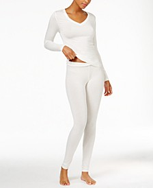 Softwear Long Sleeve V-Neck Top & Softwear Stretch Leggings