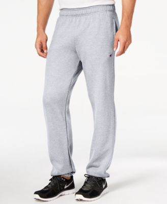 Men/'s Champion Grey Track Size XXL. Jogging Sweat Pants