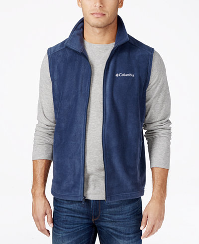 Columbia Men's Steens Mountain Vest - Coats & Jackets - Men - Macy's