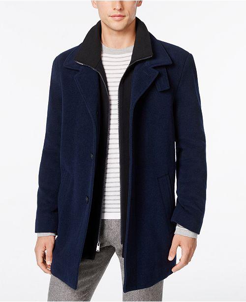 amp; Jackets Blend Calvin Coats Wool Overcoat Klein Men Coleman xnqxCwvaO4