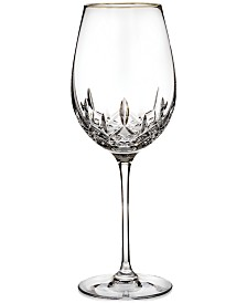 Waterford Stemware, Lismore Essence Gold Goblet