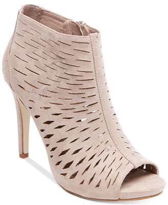 Madden Girl Rockella Perforated Dress Booties