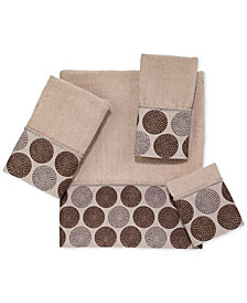 Avanti Dotted Circles Bath Towel