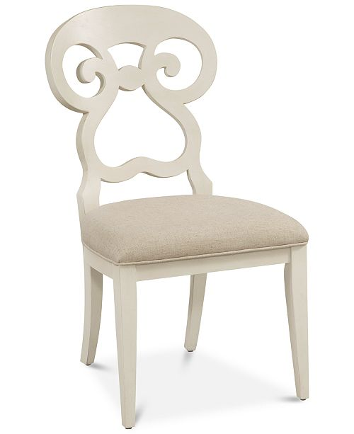 Bassett Mirror Avery Dining Chair, Quick Ship