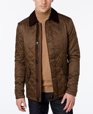 Barbour Fortnum Quilted Jacket - Coats & Jackets - Men - Macy's : mens black barbour quilted jacket - Adamdwight.com