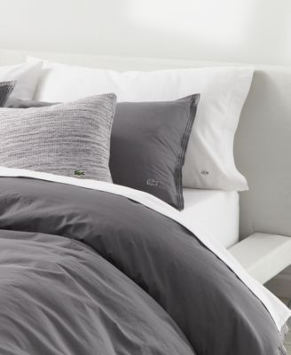 CLOSEOUT! Relaxed & Washed  Castle Rock Light Gray Full/Queen Duvet Set