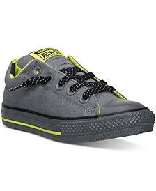 Converse Boys' Chuck Taylor High Street Ox Casual Sneakers from Finish Line