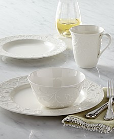 Dinnerware, Opal Innocence Carved Collection