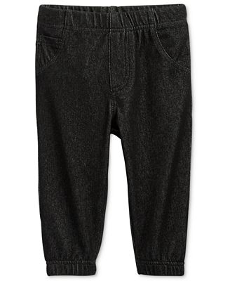 First Impressions Denim Jogger Pants, Baby Boys, Only at Macy's
