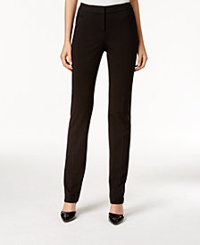 Alfani Petite Straight-Leg Pants, Created for Macy's