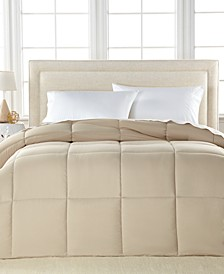 Lightweight Microfiber Color Down Alternative Full/Queen Comforter, Hypoallergenic Polyester Fiberfill