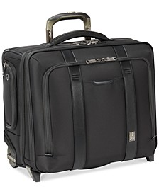 "Crew Executive Choice 2 17"" Wheeled USB Briefcase"