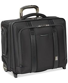 "Crew Executive Choice 2 17"" Wheeled USB Briefcase"