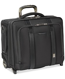"Travelpro Crew Executive Choice 2 17"" Wheeled Briefcase with USB charging port"