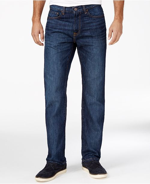 ccdedfe54 Tommy Hilfiger Men's Relaxed-Fit Jeans, Created for Macy's & Reviews ...