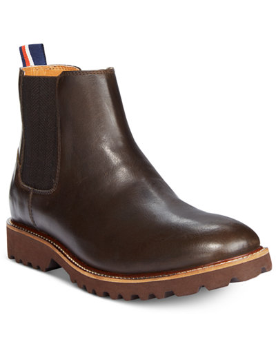 tommy hilfiger men 39 s ontario chelsea boots all men 39 s shoes men. Black Bedroom Furniture Sets. Home Design Ideas