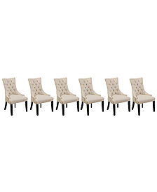 Marais Dining Parsons Chairs, Set of 6