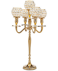 Godinger Lighting by Design Crystal Candelabra