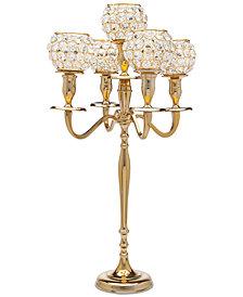 Godinger Lighting by Design Crystal Candelabra