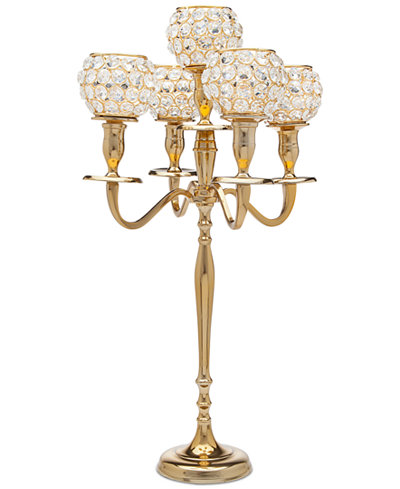 Godinger Lighting By Design Crystal Candelabra Candles