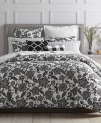 CLOSEOUT! Charter Club Damask Designs Floral Duvet Sets, Created for Macy's