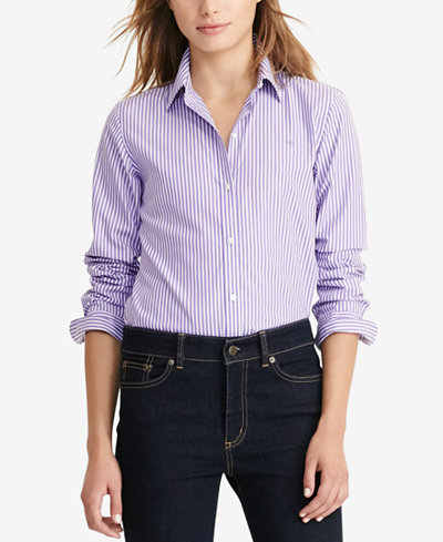 Lauren Ralph Lauren Long Sleeve Non Iron Shirt Tops