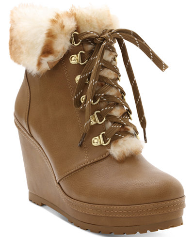 Nanette by Nanette Lepore Malee Wedge Booties