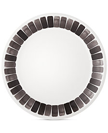 Martha Stewart Collection Heirloom Black Dinner Plate, Created for Macy's
