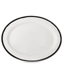 Martha Stewart Collection Heirloom Oval Platter, Created for Macy's