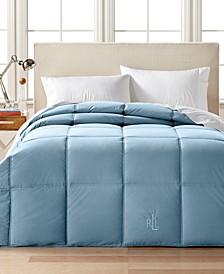 Color Down Alternative Twin/Twin XL Comforter, 100% Cotton Cover