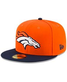 Denver Broncos Team Basic 59FIFTY Fitted Cap