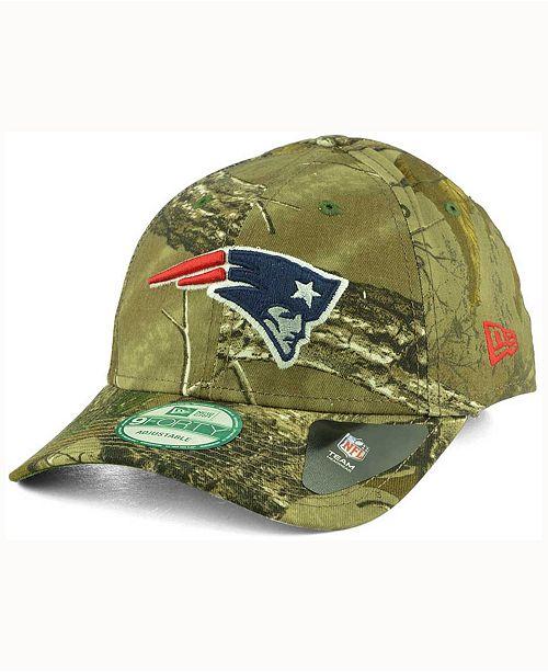 hot sale online 1c0a8 6fb48 ... New Era New England Patriots The League Realtree 9FORTY Cap ...