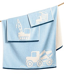 100% Cotton Velour Builders Fingertip Towel