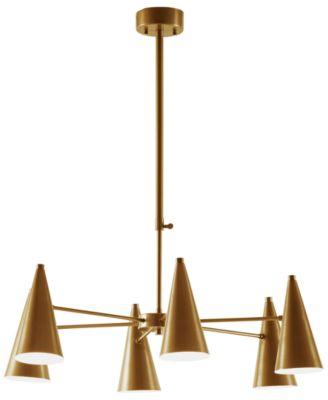 inkivy bellac antique brass chandelier - Brass Chandelier