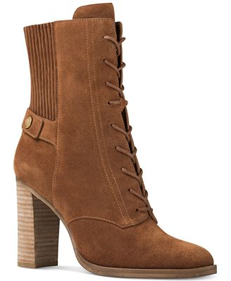MICHAEL Michael Kors Carrigan Lace-Up Booties